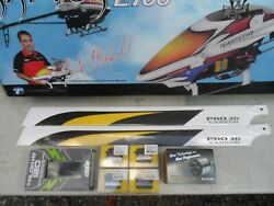 THUNDER TIGER RAPTOR E 700 quot;NICK MAXWELLquot;  HELICOPTER KIT with ACCESSORIES $900.00