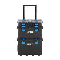 HART Stack System Mobile Tool Storage and Organization Black $101.18