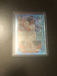 2014 Bowman Chrome 1st Mookie Betts Blue Wave Refractor RC Ready for Grading $250.00