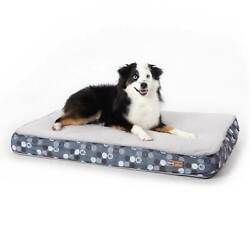 Kamp;H PET PRODUCTS 100542453 Gray SUPERIOR ORTHOPEDIC DOG BED MEDIUM GRAY 30quot; X... $50.95