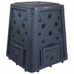 Heavy Duty 65 Gallon Stationary Bin Composter Kitchen Food Scraps Yard Waste New $58.00