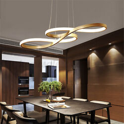 Acrylic Modern LED Ceiling Light Lamp Pendant Dining Room Fixture Dimmable $60.17