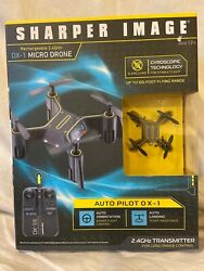 Sharper Image Auto Pilot DX 1 MICRO DRONE Rechargeable 2.4GHz NEW IN BOX $9.00