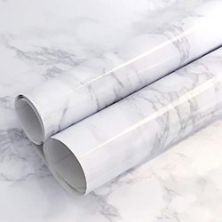 Gray Marble Contact Paper Waterproof Marble Contact Paper for Countertop Marble $9.74