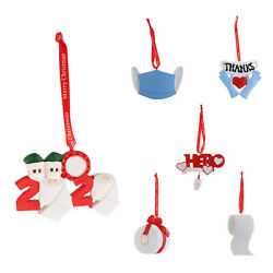 Christmas Ornaments Resin Rustic Decorations for Kids Xmas Tree Country Gift $9.94
