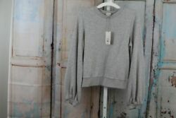 WOMEN#x27;S CREWNECK PULLOVER GRAY XS A NEW DAY NEW WITH TAGS $14.25