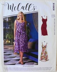 McCalls 8103 Womens Plus Dresses Sewing Pattern Sz 18W 24W $3.99