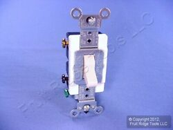Leviton Light Almond DOUBLE POLE Commercial Toggle Switch 20A CSB2 2T