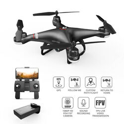 Holy Stone HS110G RC GPS Drone With 1080P FPV HD Camera Quadcopter for Beginners $85.99