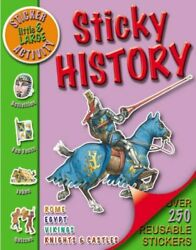 Little amp; Large Sticker Activity Sticky History Little and Large ... Paperback $19.99