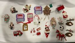 Christmas Novelty Ornaments Assorted $8.00