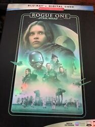 Star Wars ROGUE ONE: A STAR WARS STORY BLU RAY DIGITAL New amp; Sealed slip $15.99