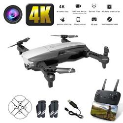 Mini Drone Foldable Quadcopter Kit and Remote Control with 4K Camera Helicopter $73.99