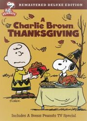 A Charlie Brown Thanksgiving Peanuts Holiday TV Special DVD Brand New $19.95