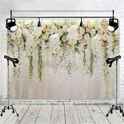 Spring Easter Flower Floral Wall Wedding Backdrop Photography Background Decor $25.99