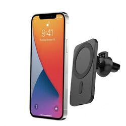 Car Mount Wireless Charger with MagSafe for iPhone 12 12 Pro 12 mini 12 Pro Max $22.99