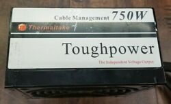 Thermaltake Toughpower W0116RU0702000085 750w Power Supply TESTED WORKS $45.00