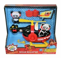 Ryan#x27;s World Helicopter with Combo Panda Figure 6quot; Feature Vehicle Red NEW $14.99