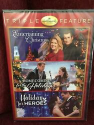 HALLMARK HOLIDAY COLLECTION DVD Triple Feature Holiday For Heroes $21.95