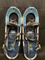 Tubbs Adventure 25 Inch Snowshoes Snow Shoes Made in USA Aluminum Pair $65.95
