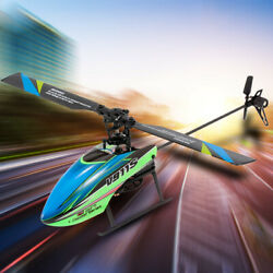 WLtoys V911S 4CH 6G Non Aileron RC Helicopter For Kids Gifts W 3 Batteries P1V8 $60.78