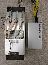 Bitmain Antminer S9 14 T H Bitcoin Miner with PSU APW3 $105.00