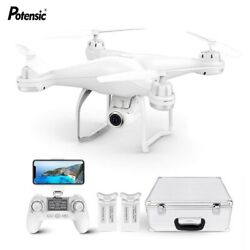 Potensic T25 Drone 1080P HD Camera RC Quadcopter FPV GPS Drones with Carry Case $299.99