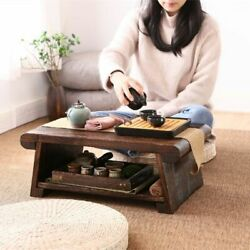 50X30X20 CM Folding Low Floor Table Modern Minimalist Compact Tatami Coffee Tabl $113.99