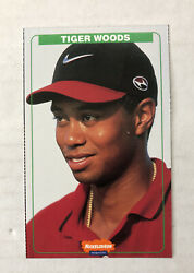 Nickelodeon Kids Choice Awards 1999 Tiger Woods Card #2 $99.99