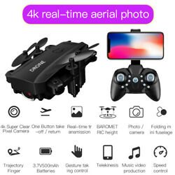 S20 Foldable Mini RC Drone With 4K FPV HD Camera Wifi Dron Selfie RC Helicopter $34.17