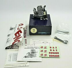 OS MAX 15 CV RC Engine w recoil starting system wrong box NEW $224.95