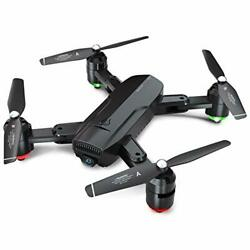 Foldable GPS Drones for Adults FPV Camera Drone HD 1080P Live Video with $139.53