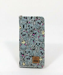 Cute Mini Cat Large Wallet with all around zipper and 13 pockets $27.99
