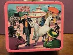 Aladdin vintage Dr. Dolittle lunchbox with Thermos $149.95