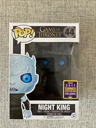 Funko Pop Night King 44 Game Of Thrones 2017 Summer Convention Exclusive GBP 12.00