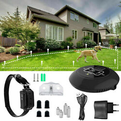 2019 Wireless Electric Dog Fence Pet Containment System Shock Collars For 1 Dog $54.99