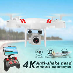 DRONE 4K CAMERA HD WIFI TRANSMISSION FPV DRONE HELICOPTER WITH CAMERA 2021 $29.99
