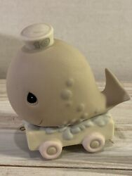 1991 Precious Moments Birthday Series Train 10 Year Old quot;Whalequot; Figurine $19.99
