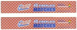BOXES IN LOT LONG 11quot; MATCHES 40 IN BOX FIREPLACE GRILL BBQ CANDLE CAMPING $8.99