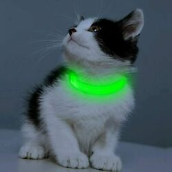 Led Dog Collar Rechargeable Light Up Dog Collars for Small Dogs Cats Reflecti $19.95