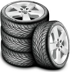 4 New Federal Super Steel 595 205 40R16 83V A S Performance Tires $257.65