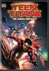 TEEN TITANS THE JUDAS CONTRACT New Sealed DVD