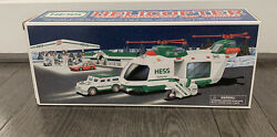Hess Helicopter With Motorcycle And Cruiser $9.00