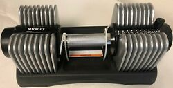 Mtrendy 5 50 lbs Adjustable Dumbbell Silver Single Pair Weight Exercise New $349.99