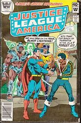 JUSTICE LEAGUE OF AMERICA #173 1979 WHITMAN DILLIN CONWAY BLACK LIGHTING $6.99