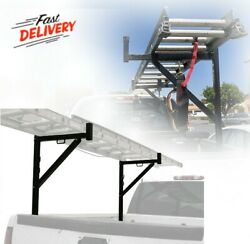 Durable Heavy Duty Ladder Rack For Truck Pickup Long Materials Extension System $99.55