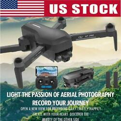 CSJ X7 PRO GPS RC Drone Camera 4K 5G Wifi Quadcopter Gesture Photo2Battery O1L5 $184.98