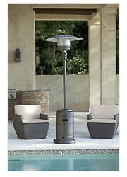Fire Sense Gray 46000 BTU Commercial Patio Heater Ships in 1 Business Day
