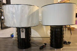 George Kovacs table lamps Vintage MCM Price For Pair $200.00