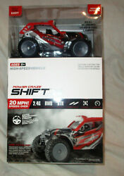 Power Craze Shift 24 Mini RC High Speed Red Buggy NEW $19.99